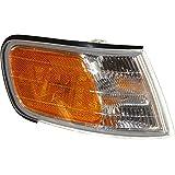 evan-fischer eva20572013364Ecke Licht Beifahrerseite RH Lampe Park Parken Marker Linse aus Kunststoff, klar und Bernstein Dot SAE zugelassen