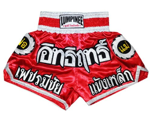 Lumpinee LUM-016 - Juego pantalones cortos Muay Thai