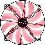 Aerocool Silent Master Gehäuselüfter (200mm, LED) rot