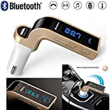 Webilla Car Charger For All Smartphone Phone Charging Adapter With Fm Kit Mp3 Transmitter Handsfree Aux Cable Usb Pen Drive Sd Memory Card Supported With Led Screen Noise Cancellation Call Accept Disconnect Feature