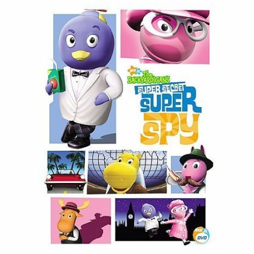 BACKYARDIGANS:SUPER SECRET SUPER - Backyardigans Dvd