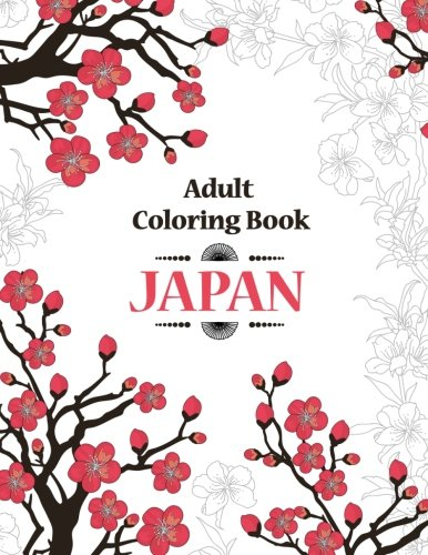Adult Coloring Book - Japan