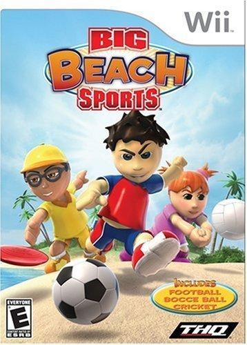 Big Beach Sports - Nintendo Wii by THQ (Wii-big Beach Sports)