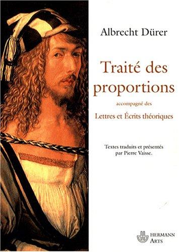 Trait des proportions : Lettres et crits thoriques