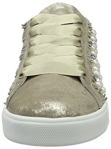 Kennel und Schmenger Schuhmanufaktur  Town, Sneakers Basses femme Grau (taupe/pearl Sohle Weiss)