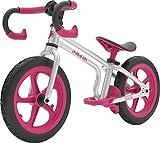 Chillafish FIXIE Laufrad mit integrierter Fußstütze, Fußbremse und pannensicheren Reifen im tollen Rennrad Stil