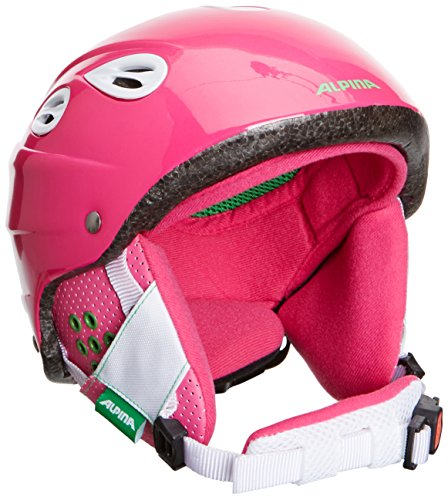 Alpina Kinder Skihelm Grap Junior, Pink, 54-57, 9022252