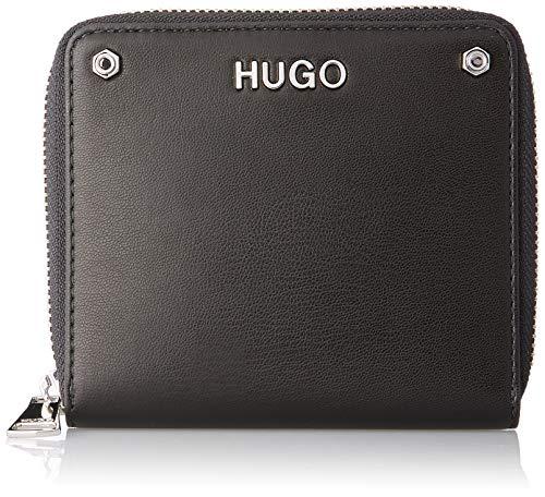 HUGO Damen Leyton Sm Wallet Geldbörse, Schwarz (Black), 2x11x12 cm