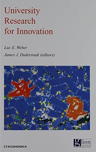University Research for Innovation par (Relié - Jan 27, 2010)