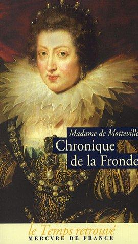 Chronique de la Fronde