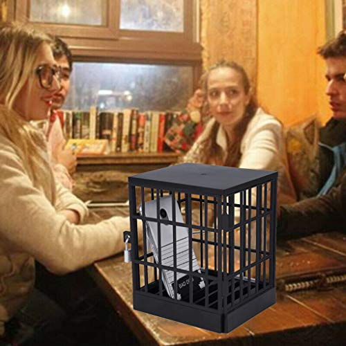 Wokee Vogelvoliere Vogelkäfig Vogelhaus Tierkäfig for Smartphone,17,50 x 6,50 x 18,50 cm,Handy-Gefängnis Scherzartikel,Bleiben Sie vom Telefon fern und konzentrieren Sie Sich auf die Party