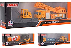 GLOBO, D-Cast Trucks 3Asstd (37486), Multicolor (1)