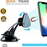 #6: SILTREE (Scratch Resistant) 360 Degree Rotation Reusable Car Magnetic Mobile Holder For Dashboard Magnetic Mobile Car Holder Mobile Holder in Car Dashboard Mobile Holder in Car Windshield Car Mobile Mount For Windshield Magnetic Mobile Holder For Car Best Car Mobile Holder Dashboard Mobile Phone stand Latest Car Mobile Stand Holder Car Grey