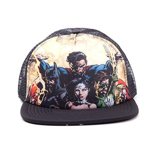 Preisvergleich Produktbild Bioworld Justice League - Heroes Snapback (Cap)