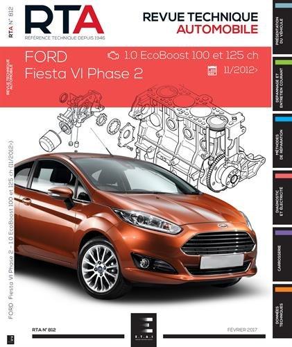 RTA 812 Ford Fiesta VI PH.2 11/2012 1.01 (100 CH)