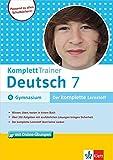 Klett Komplett Trainer Deutsch Klasse 7: für Gymnasium
