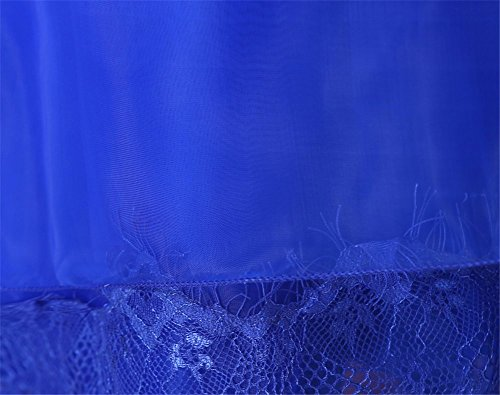 Drasawee - Robe - Trapèze - Femme bleu roi