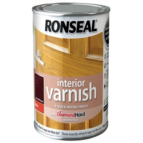 ronseal-rslingdm250-250ml-quick-dry-gloss-interior-varnish-deep-mahogany
