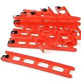 DAM 10x Vorfachaufwickler Rahmen Hakenbrett - Wickelbrett - 15cm