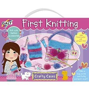 Galt – First Knitting – Mon Premier Tricot – Kit de Couture Pour Enfant (Import Royaume Uni)