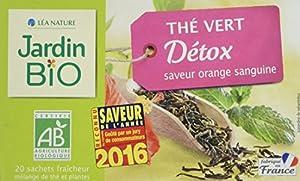 Jardin Bio Thé Vert Detox 30 g - Lot de 4