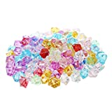Kristallsteine - TOOGOO1 Packung mit 130 farbigen dekorativen Steinen Falscher