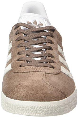 adidas Gazelle, Scarpe da Ginnastica Basse Unisex – Bambini Marrone (Trace Brown/off White/footwear White)