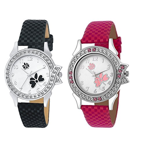 PZOZ Analog Multicolor Dial Girl's Watch