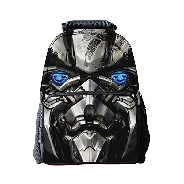 51Oj2vgIU%2BL. SS600  - JIAN Mochila Infantil Transformers 3D Cartoon Anime Bag,Transformers(C)-42 * 18 * 29cm