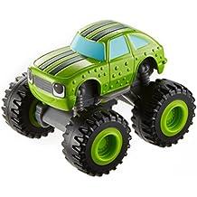 Blaze y los Monster Machines Nickelodeon - Vehículo pickle, color verde(Mattel CGF23)