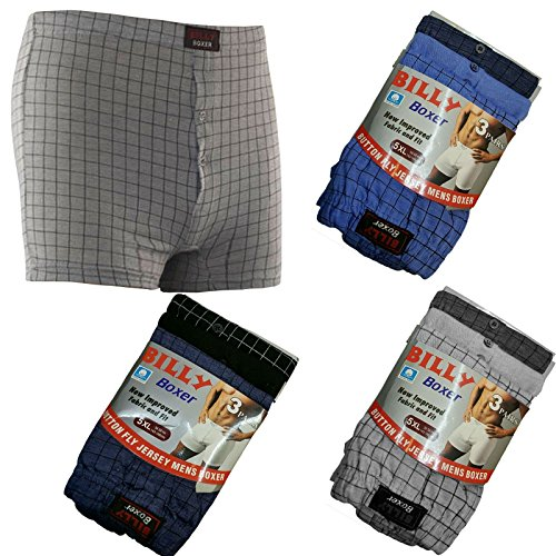 Unbranded 3 6 9 12 Pack Mens Plus Size Billy Boxer Elastic Waist Hipster Underwear Shorts 3XL 4XL 5XL 6XL