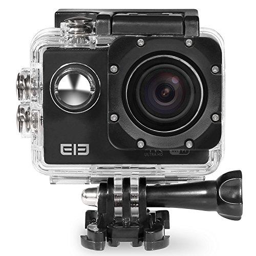 Cewaal Action Kamera WiFi Full HD 1080P Sport Actioncam 170 ° Weitwinkel wasserdicht 30m mit Zubehör Kits