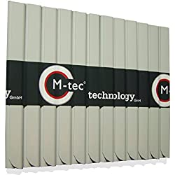 24 Stück PVC - Sichtschutzstreifen Klemmschienen – grau