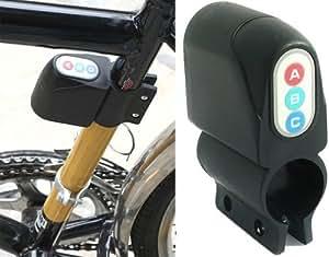 Allarme bici bicicletta Elettronico con antifurto sirena con sirena da 100 db BIKE