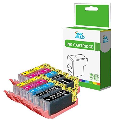 InkJello Kompatibel Tinte Patrone Ersatz für Canon Pixma MG5700 MG5750 MG5751 MG5752 MG5753 MG6800 MG6850 MG6851 MG6852 MG6853 MG7750 MG7751 MG7752 MG7753 TS5050 TS5051 TS5053 TS5055 TS6050 (10-Pack)