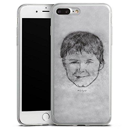 Apple iPhone 8 Slim Case Silikon Hülle Schutzhülle Kool Savas Fanartikel Merchandise Märtyrer Cover Silikon Slim Case transparent