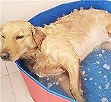 MENGYINY Dauerhafte Badewanne, Hund und Katze Badewanne pool Falten großer Hund Pool, Hund Badewanne Fass