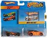 Mattel T5210 Hot Wheels Color Shifters Cars High Voltage & RD-06 Car Set