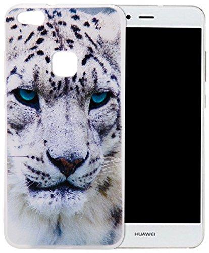 Huawei P10 Lite Silikon Hülle,Nnopbeclik Durchsichtig Leuchtend TPU Clear Case Schutzhülle,Drucken Muster Ultra Slim Weich Flexible Tasche Etui,Stoßdämpfend Transparent Schutz Handytasche Schale Bumper für Huawei P10 Lite 5.2 Zoll
