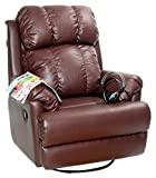 Recliners India Single Seater Manual Swivel Glider Recliner (Matt Finish, Two Tone Tan)