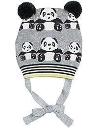 Happy Cherry Bonnet Bébé Animal Panda Mignon Chapeaux en Laine Enfant Fille  Garçon Bonnet Tricot Hiver cf96ea7bb1c