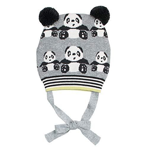 9ac133c0fc7b Happy Cherry Chapeau en Laine Bébé Fille Garcon Chapeau Tricot Hiver  Automne Chaud Bonnet Crochet à