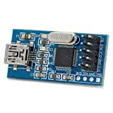 STLINK V2 STM8 STM32 Mini STLINK Downloader Emulator Programmiermodul Dunkelblau
