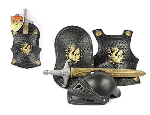 THEE Mittelalter Brustpanzer Ritter Rüstung Kostüm für Kinder Halloween Karneval Fasching Spielzeug Weinachten ()
