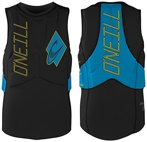 O'Neill Gooru Tech Kite Vest Protektor S black / sky