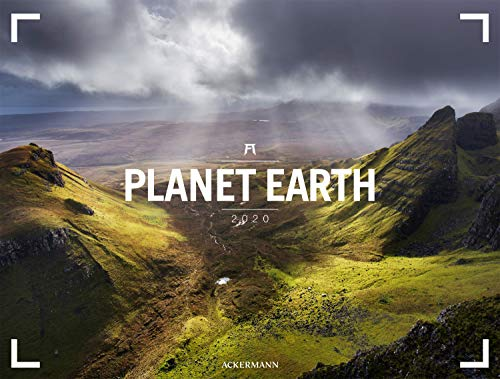 Planet Earth - Ackermann Gallery 2020, Wandkalender im Querformat (66x50 cm) - Großformat / Hochwertiger Panorama-Kalender Natur und Landschaft