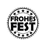 28865000 Stempel Frohes Fest, 3cm ø