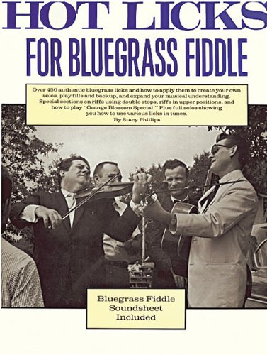 Hot Licks for Bluegrass Fiddle