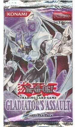 Gladiator's Assault YuGiOh GX Card Game 1st EDITION Booster Pack