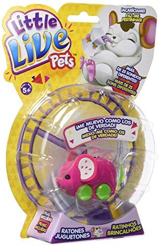little live pets Pippeez, ratón juguetón (Famosa 700013199), Surtido: modelos/colores aleatorios